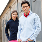 Women's 1/4 zip microfleece