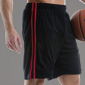 Gamegear® Cooltex® sports short with side stripes