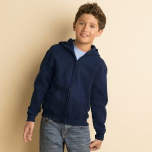 Heavy Blend™ youth full-zip hooded sweatshirt Thumbnail
