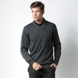Contrast Arundel sweater Thumbnail