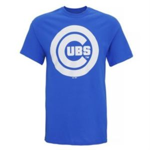 Chicago Cubs large logo t-shirt Thumbnail