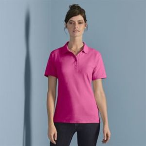 Women's softstyle double piqué polo Thumbnail