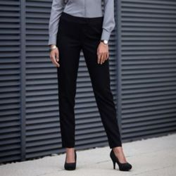 Women's tapered leg trousers Thumbnail