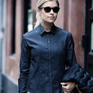 Women's Torrance denim shirt Thumbnail