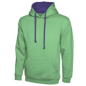 Contrast Hooded Sweatshirt Thumbnail