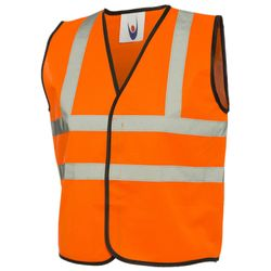 Childrens Hi-Viz Waist Coat Thumbnail