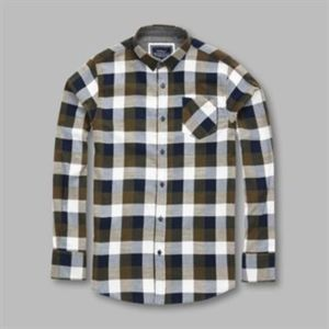 Persuader - long sleeve check shirt Thumbnail