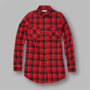 Scott - Women's classic check flannel shirt Thumbnail