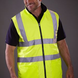 Hi-Vis Reversible Fleece Vest Thumbnail