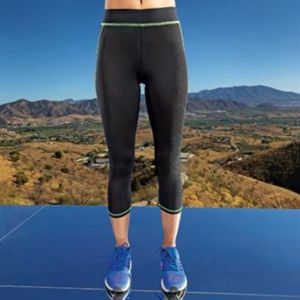 Women's Capri TriDri® fitness leggings Thumbnail