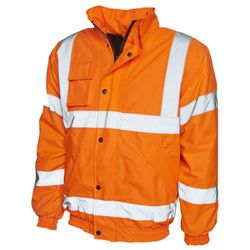 High Visibility Bomber Jacket Thumbnail