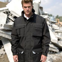 Result Workguard Sabre Long Coat Thumbnail