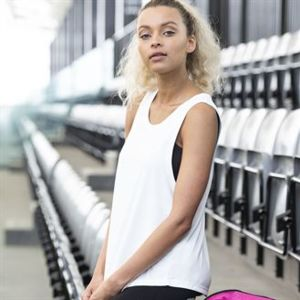 Girlie cool smooth sports vest Thumbnail